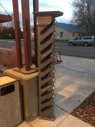 Lander Library Skate Rack
